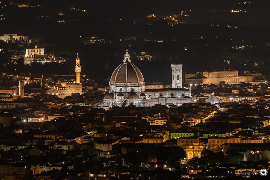 Panorama su Firenze da Villa le Rondini