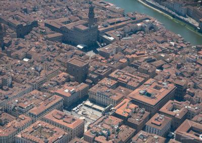 Piazza Signoria Vista aerea