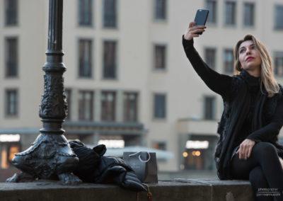 Selfie a Firenze