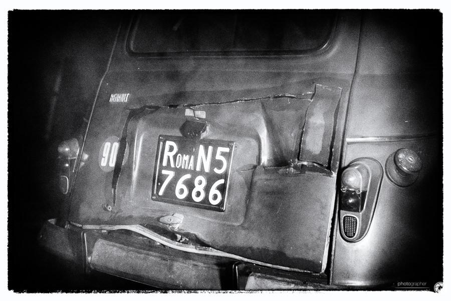 La Renault 4 rossa di Aldo Moro