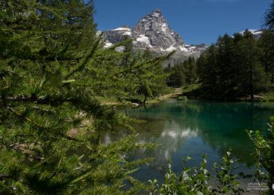 Lago blu - Cervina