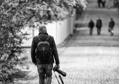 Il fotografo solitario