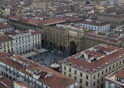 Vista P.zza della Repubblica - Firenze