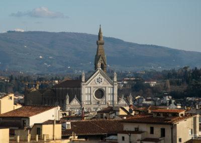 Vista Santa Croce - Firenze