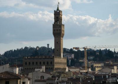 Vista palazzo vecchio - Firenze