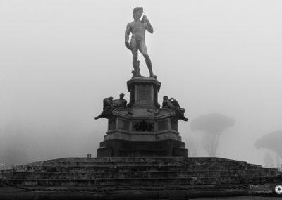 Firenze nella nebbia