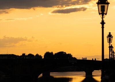 Tramonto in Firenze